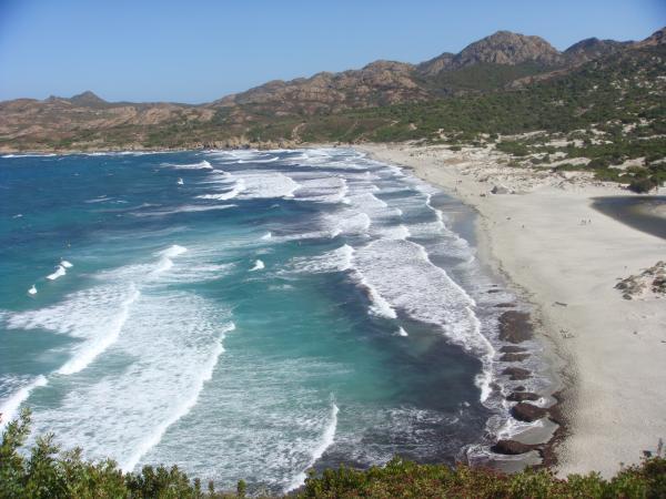 Surfcasting con il mare costante