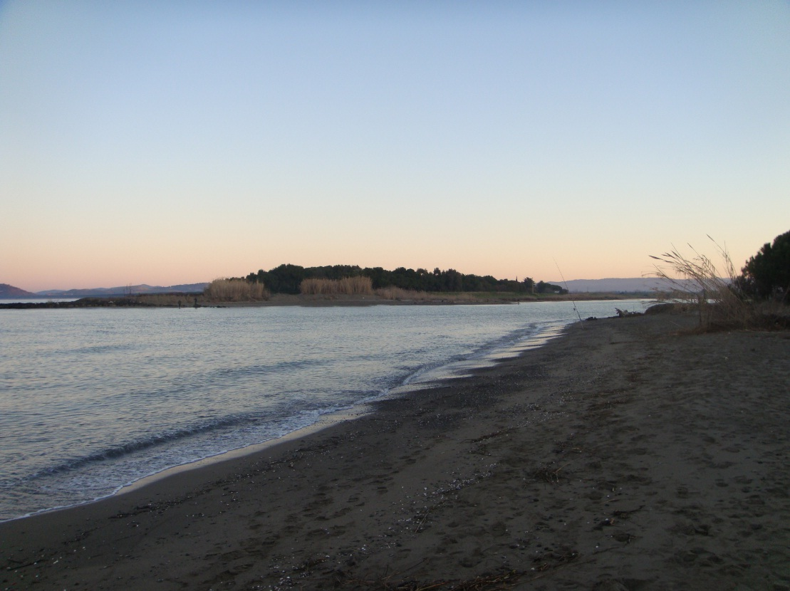 Surfcasting Toscana: Albinia (foce fiume Albegna)