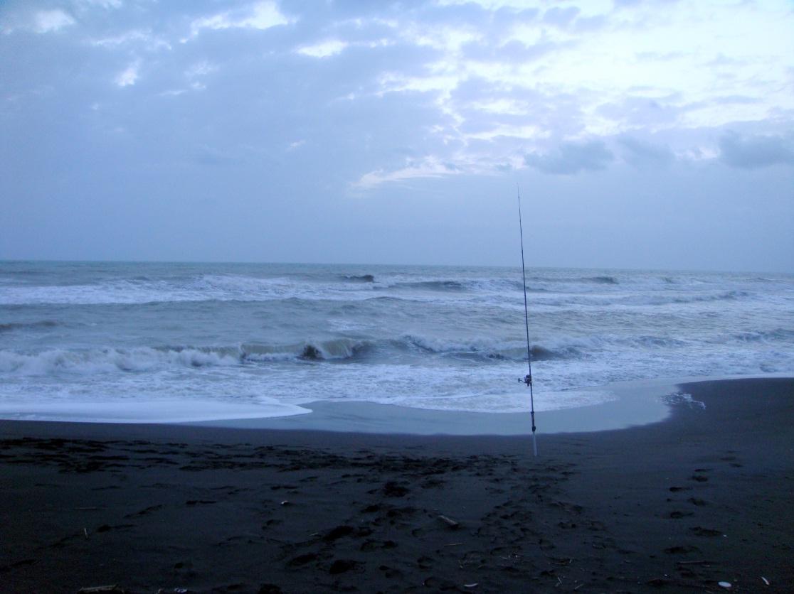 Si può parlare di surfcasting anche con mare calmo?