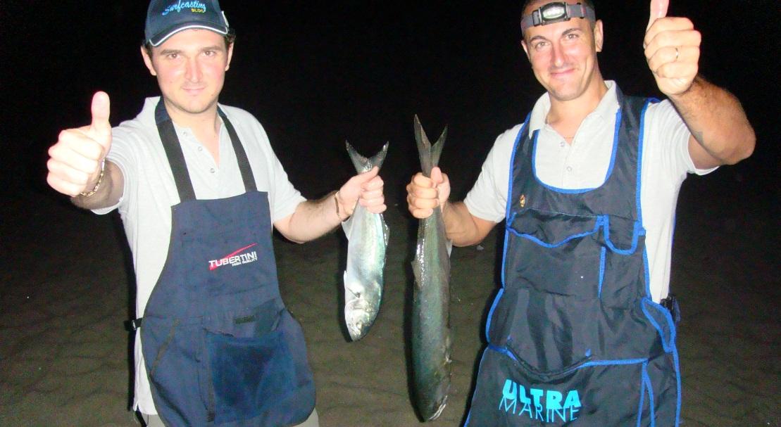 Capalbio: battuta di pesca ai pesci serra