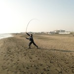 il ground è un lancio da surfcasting
