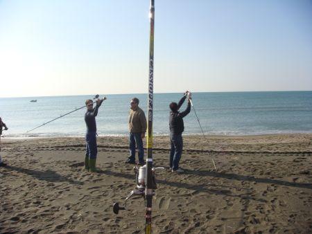 Surfcasting: il corso di lancio tecnico a Roma con Michele Nardi