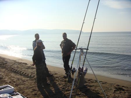 Surfcasting con Michele Nardi