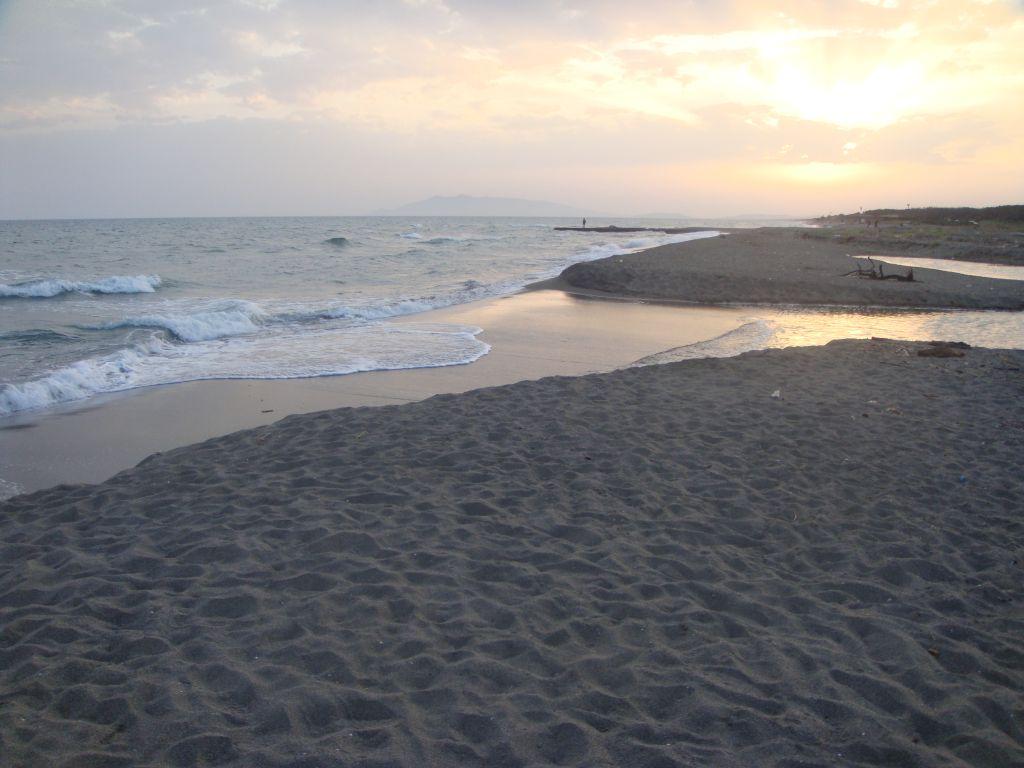 Battuta di surfcasting a Pescia Romana