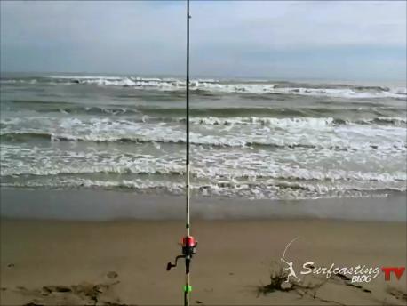 Dove lanciare l'esca a surfcasting?