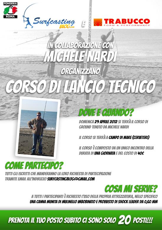 corso di lancio tecnico a Roma con Michele Nardi