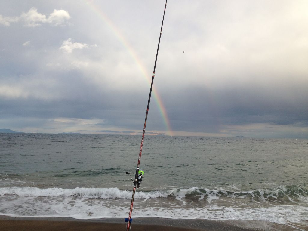 Surfcasting all'isola d'Elba