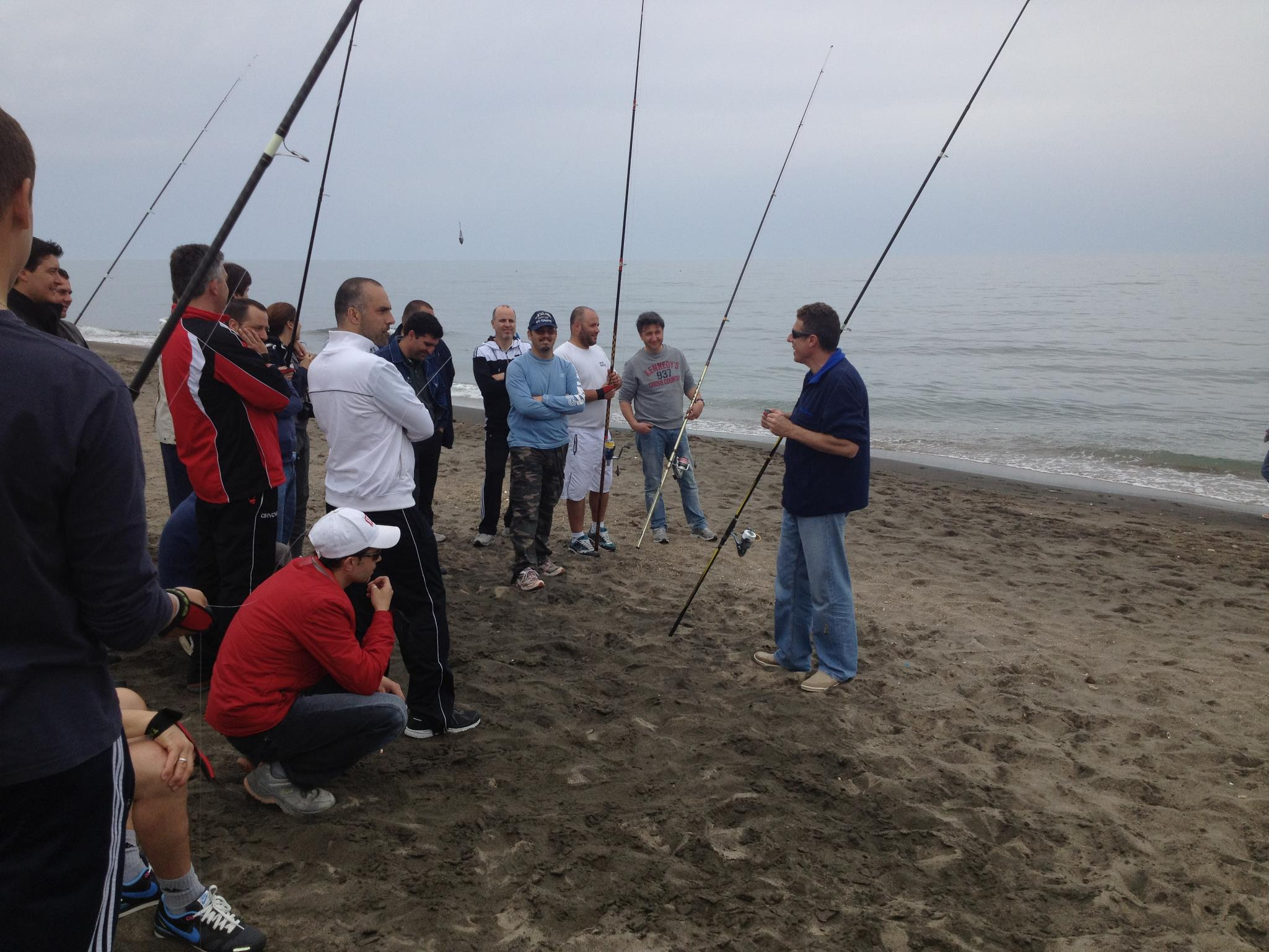Report del corso di lancio con Michele Nardi
