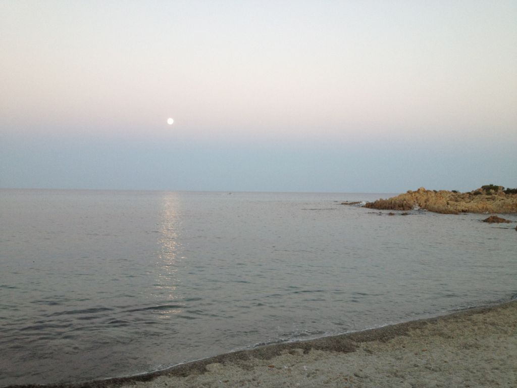 battuta di pesca a Cala Liberotto in Sardegna