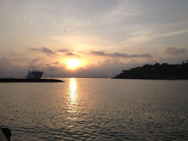 alba porto Santo Stefano