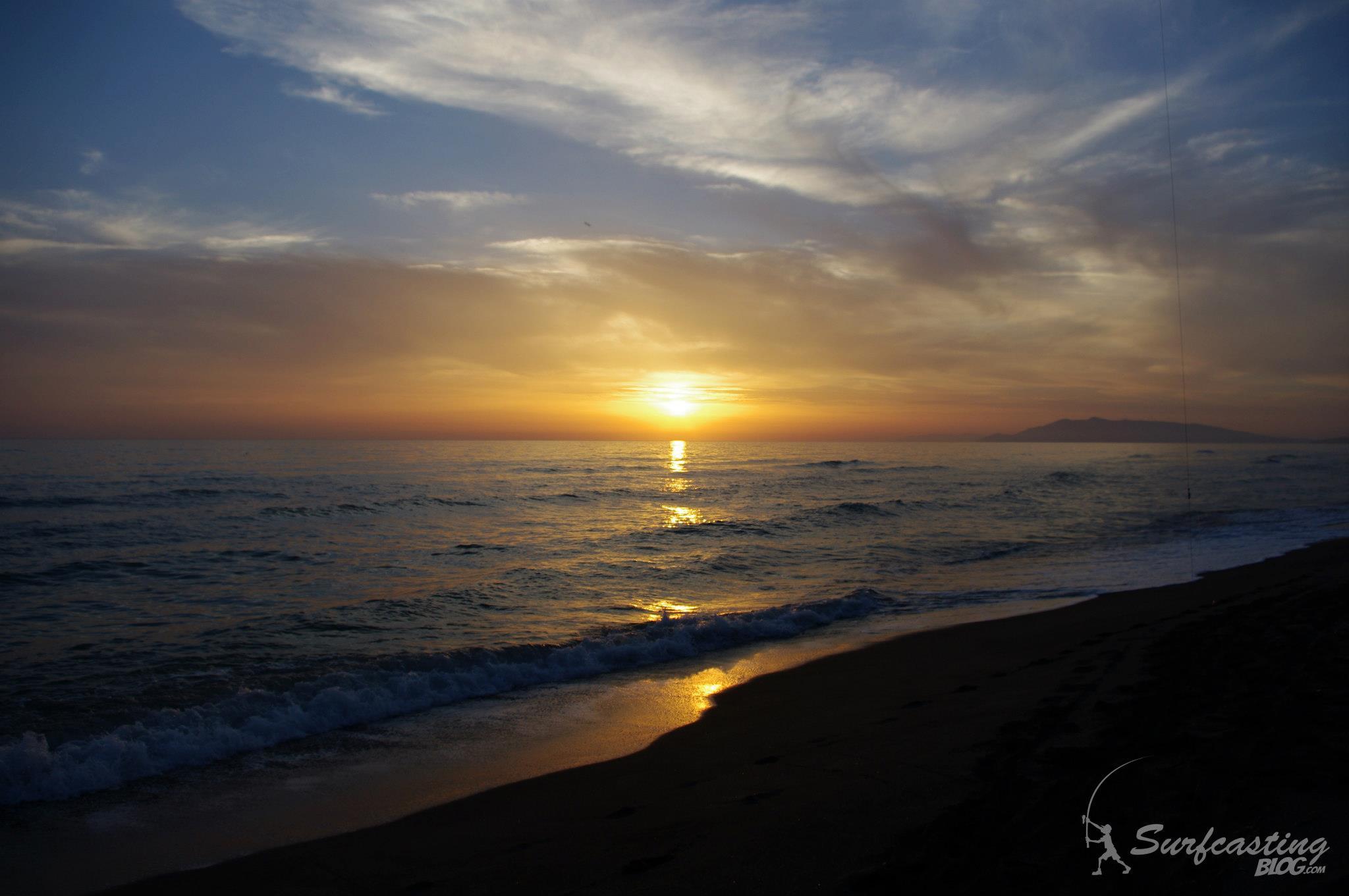 tramonto surfcasting blog