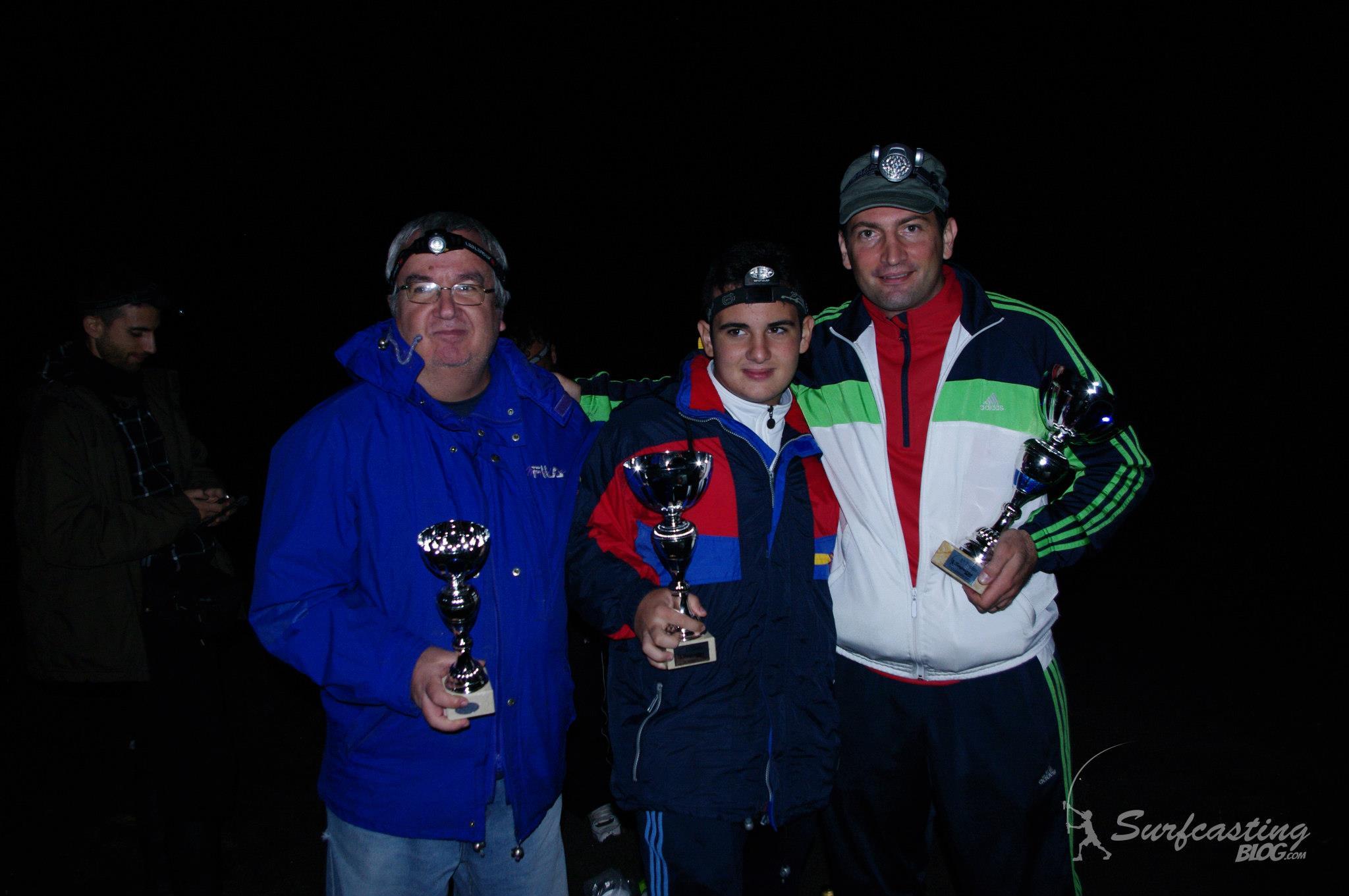 vincitori primo trofeo surfcasting blog