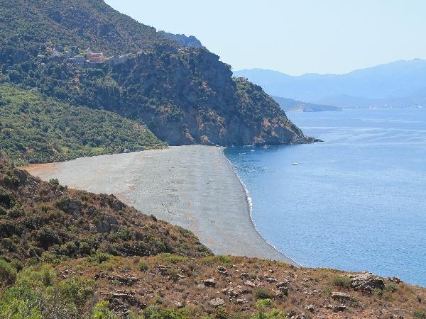 Nonza: spiaggia mistica