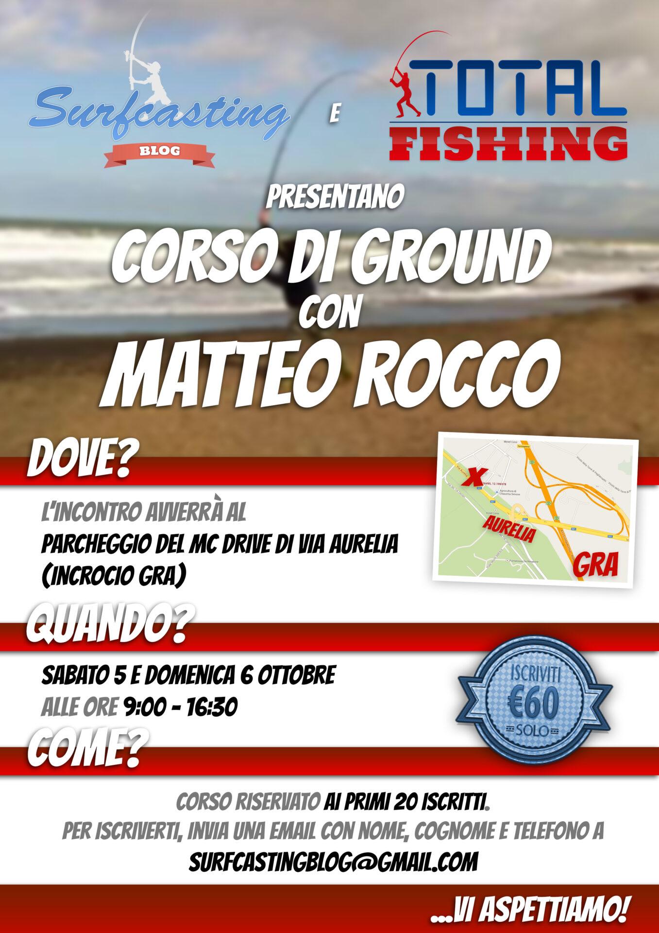 Corso di ground con Matteo Rocco