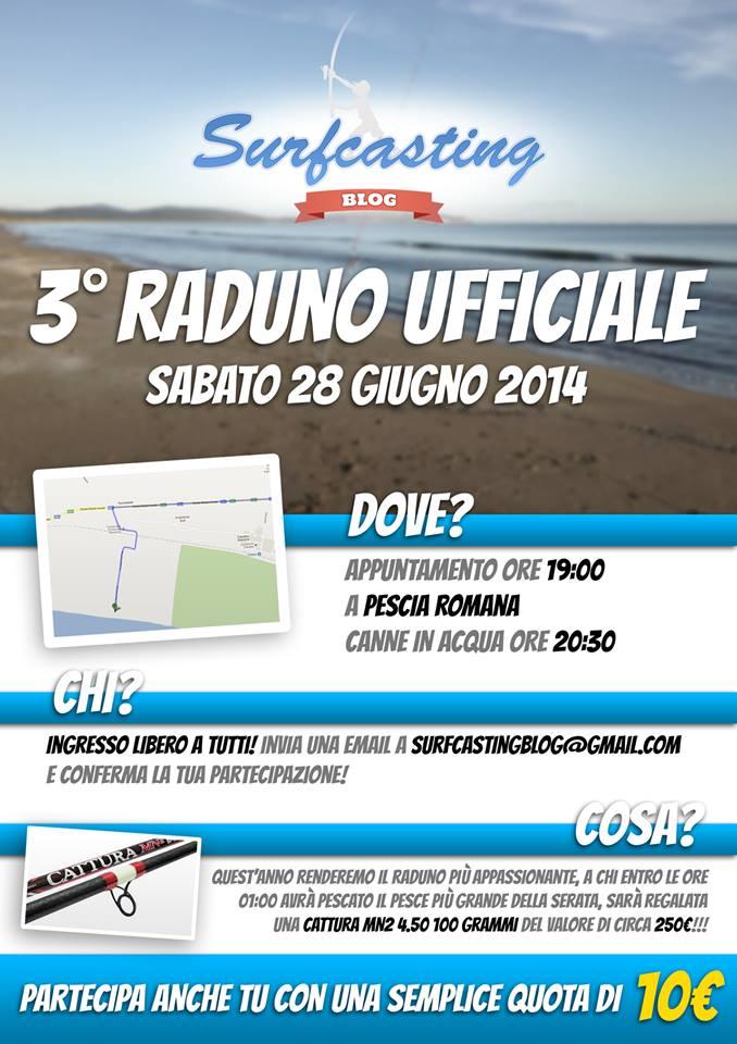 Terzo Raduno Ufficiale Surfcasting Blog
