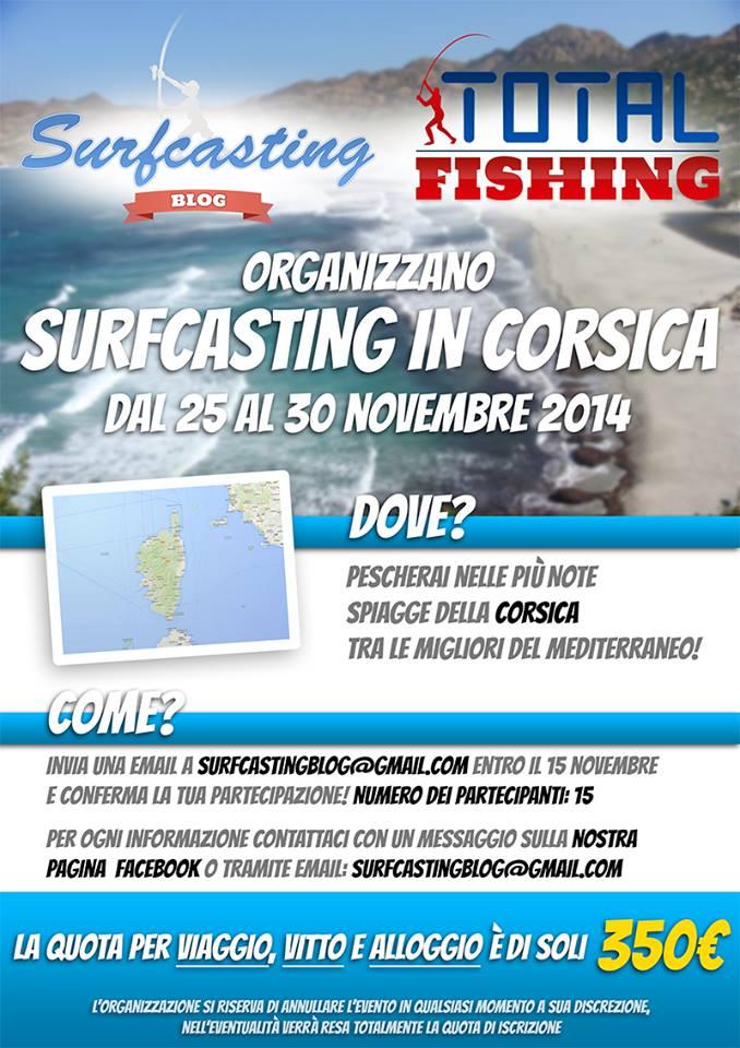 Surfcasting Corsica: l'evento dell'anno