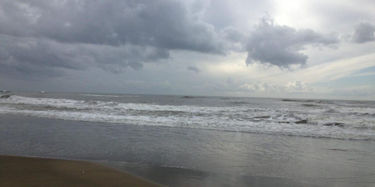 Surfcasting con il mare montante