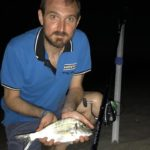 Surfcasting alle orate: mangiano di notte?